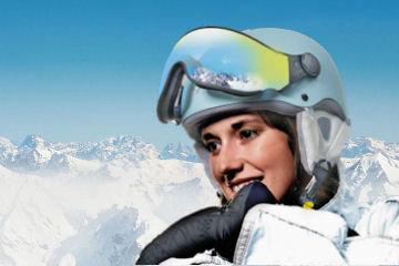 CP Carachillo XS Ski helmet with Visor buy