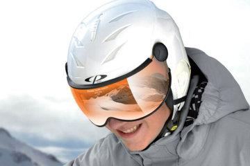 CP Camulino Ski helmet with Visor Child