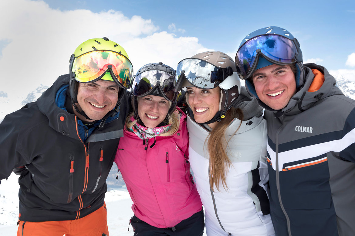 CP Camurai from € 249 & CP Cuma from € 299 | Ski helmet with Visor for Woman and Men