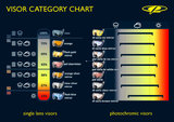 CP skihelm vizier categorie overzicht CP 13