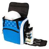 skischoenentas skhelm tas kinderen blauw-wit 2