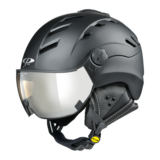 Helmet With Visor Black - CP Camurai - Photochromic Mirror Visor (❄/☁/☀)_
