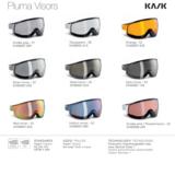 kask piuma los wissel vizier voor class skihelm wechselvisier ersatzvisier exchangeable visor ski helmet