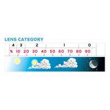 lens category los vizier skihelm of skibril