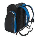 skischoenen tas met helmvak zwart blauw skihelmtas 3