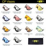 CP los wissel vizier voor camurai en cuma skihelm wechselvisier ersatzvisier exchangeable visor ski helmet vario silver