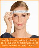 opmeten maat skihelm topsnowshop.nl CP144012