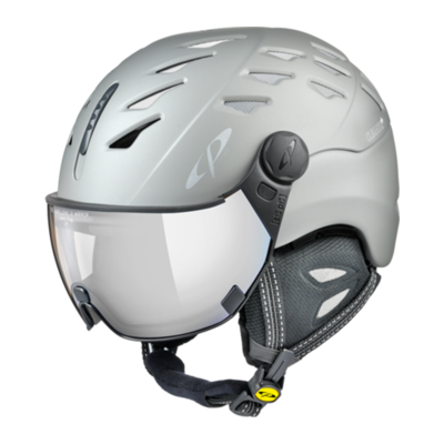 Helmet With Visor Grey - Cp Cuma - Photochromic/Mirror ☁/❄/☀