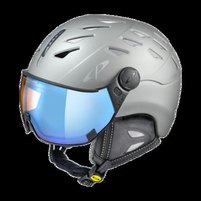 Cp Ski Helmet with Visor Grey - Cp Cuma Cashmere - Photochromic/Polarized/Mirror ❄/☁/☀