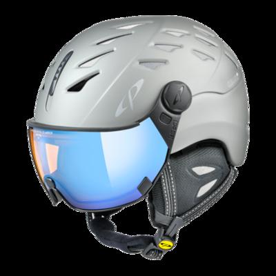 Helmet With Visor Grey - Cp Cuma - Photochromic/Polarized/Mirror ☁/❄/☀