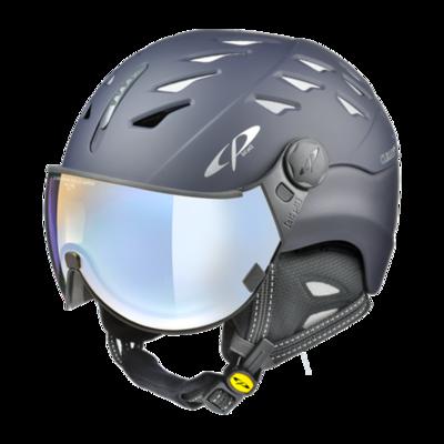 Helmet With Visor Blue - Cp Cuma - Photochromic/Polarized/Mirror ☁/❄/☀