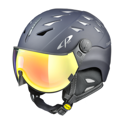 Helmet With Visor Blue - Cp Cuma - Photochromic/Mirror ☁/❄/☀