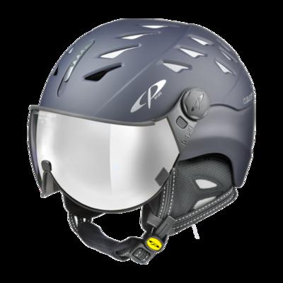 Helmet With Visor Blue - Cp Cuma - Mirror ☁/❄/☀