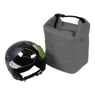 ski helmet bag grey also for ski goggle - protect your gear!