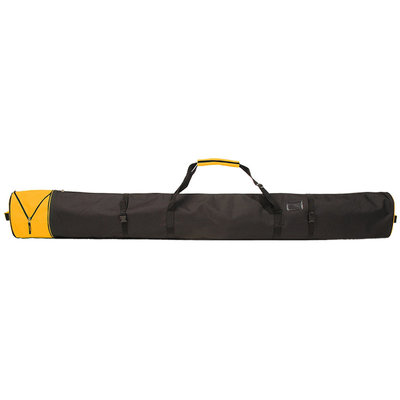 Ski Bag Corvara Vario - orange - for 1 pair of skis with poles