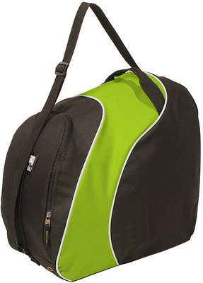 Ski helmet Bag & Skiboots Bag black green