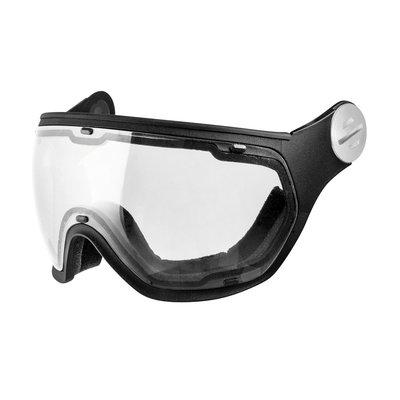 Slokker Visor Clear Black | Perfect for Night Vision