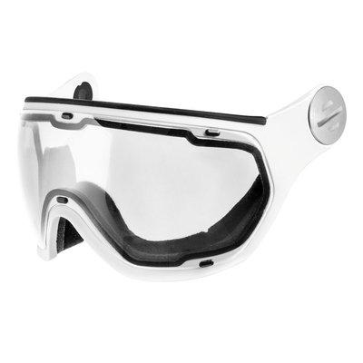 Slokker Visor Clear White | Perfect for Night Vision