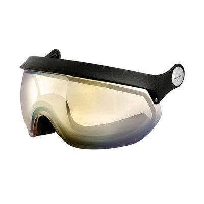 Slokker Visor Photochromic gold black | For all weather types!