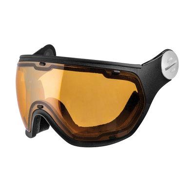 Slokker Ski helmet Visor Photochromic & Polarized (☁/☀/❄) Orange Black
