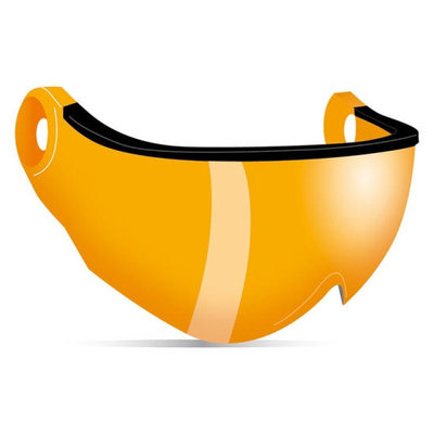 Kask Visor for Ski Helmet - Orange Cat.2 (☁/☀) – Piuma R Visor