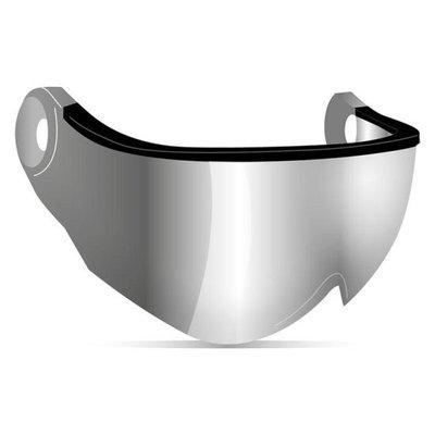 Kask Visor for Ski Helmet - Smoke Grey (☁/❄)  Cat. 1 - Piuma R Visor