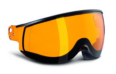 Kask Piuma Orange single lens visor Cat.2 (☁/☀) - for Kask helmet < Season 19-20