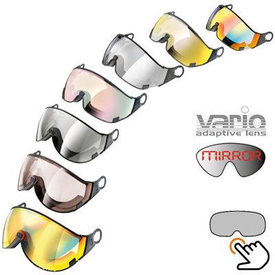 CP ski helmet visor loose photochromic - for any weather type - fits on Cp Ski helmets