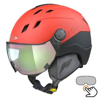 CP Corao+ ski helmet red - photochrome visor (4 Choices) - very safe