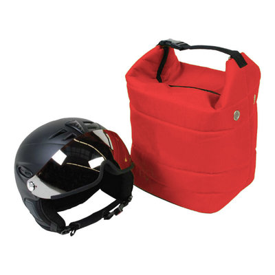 ski helmet bag red also for ski goggle - protect your gear!