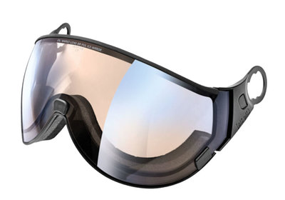 CP 16 ski helmet visor Photochromic & Polarised - Cat. 1-2 (☁/❄/☀) dl vario brown pol ice mirror
