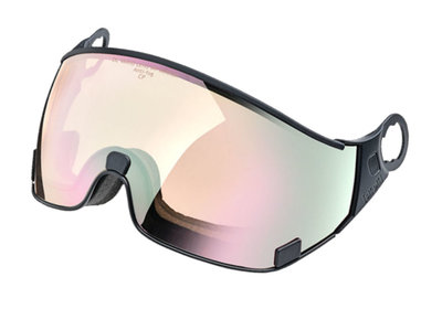 CP 20 ski helmet visor Photochromic - Cat. 1-2 (☁/❄/☀) - DL Vario Lens Water Pink Mirror