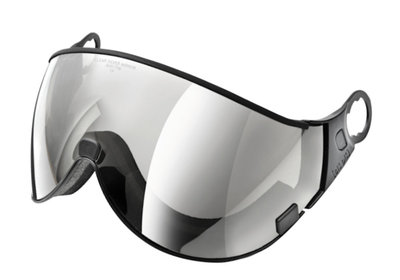 CP 02 ski helmet visor - cat. 2 (☁/☀) - Clear silver mirror