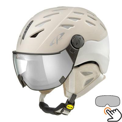 CP Cuma Cashmere ski helmet cream - photochromic visor (4 Choices)