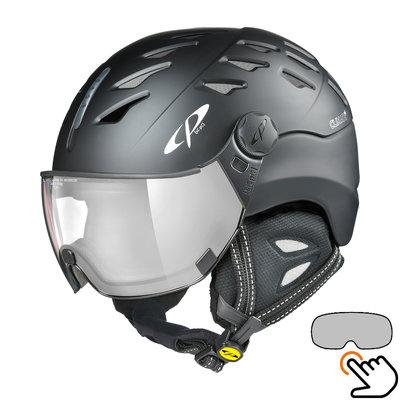 CP Cuma ski helmet black - photochromic visor (7 Choices)