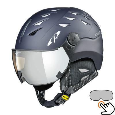 CP Cuma ski helmet blue - photochromic visor (7 Choices)