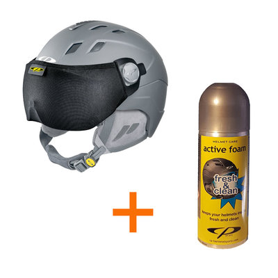gift 2 - free Ski Helmet Visor Protector + Helmet Cleaner Spray 200 ML bottle