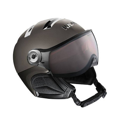 Kask Chrome Platinum Ski Helmet with Visor - Photochromic Visor (☁/❄/☀) Cat.1-2