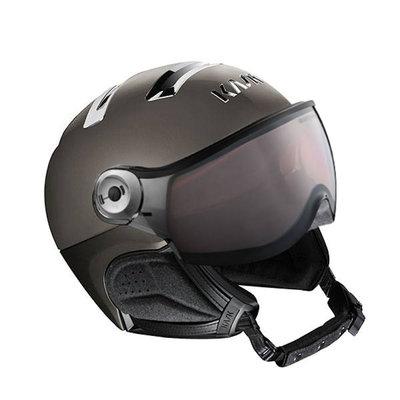 Kask Chrome Platinum Ski Helmet with Visor - Photochromic Visor (☁/❄/☀) Cat.1-2