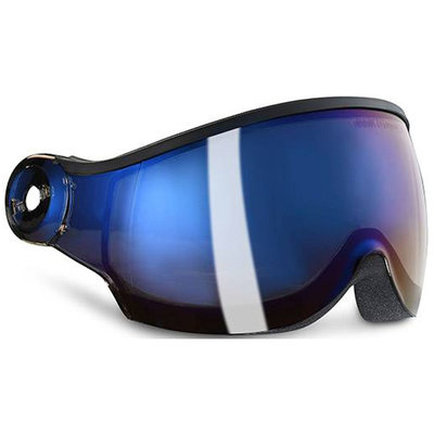 Kask Visor for Ski Helmet -  Iridium Mirror cat.2 (☁/☀) – Piuma R Visor