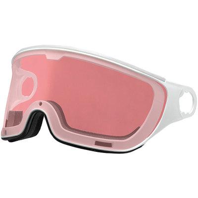 Mango Ski helmet Visor Photochromic & Polarised pink-white (☁/❄/☀) - For the Mango Cusna & Quota Ski helmets
