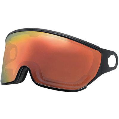 Mango Ski helmet Visor Transparent Red-black category 2 (☁/☀) - For Mango Cusna & Quota Ski helmets