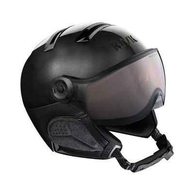 Kask Chrome Black - Ski Helmet with Visor Kask - Photochromic Visor (☁/❄/☀) Cat.1-2