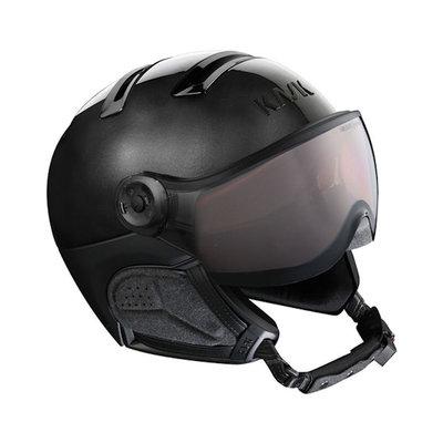 Kask Chrome Black - Ski Helmet with Visor Kask - Photochromic Visor (☁/❄/☀) Cat.1-2
