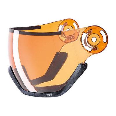 Uvex Ski helmet Visor Photochromic - For Uvex HLMT 400 - Lasergold lite Cat. 1 (☁/❄)