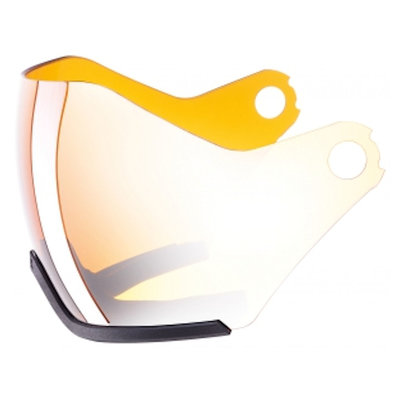 Uvex Ski helmet Visor - For Uvex HLMT 600 - Visor litemirror silver-lasergold Cat. 2 (☁/☀)