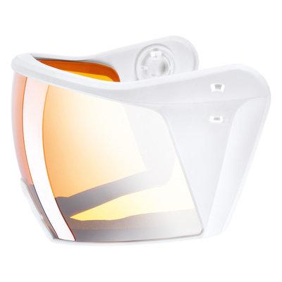 Uvex Ski helmet Visor - For Uvex HLMT 700 - litemirror silver lasergold lite white Cat. 2 (☁/☀)