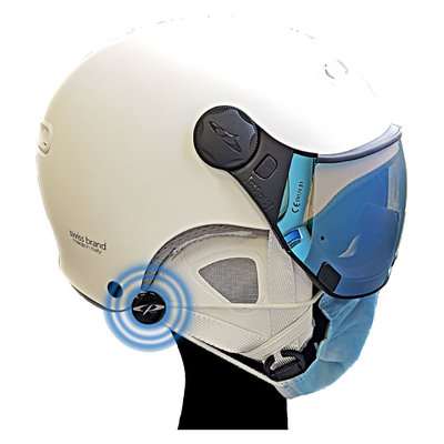 CP Pins for attachment of face mask | No need to take off the ski helmet after each descent! | Universal