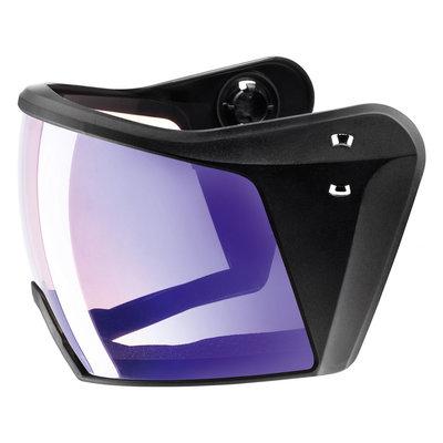 Uvex Ski helmet Visor - For Uvex HLMT 700 - litemirror blue variomatic Cat. 1-2 (☁/❄/☀)