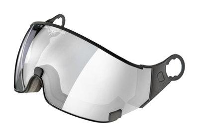 CP 23 ski helmet visor Photochromic - Cat. 1-2 (☁/❄/☀) - Dl Vario Silver Lens Mirror
